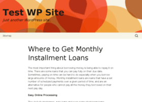 onlineloanswithmonthlypayments.com