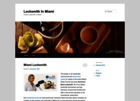 onlinelocksmithinmiami.wordpress.com
