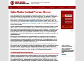onlinemedicalassistantprograms.com
