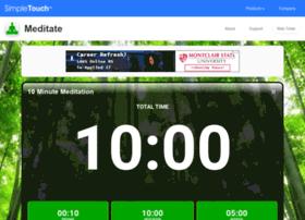 onlinemeditationtimer.com