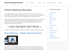 onlinemeetingreviews.com