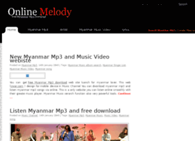 Myanmar mp3 song