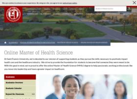 onlinemhsc.francis.edu