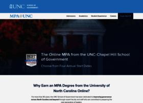 onlinempa.unc.edu