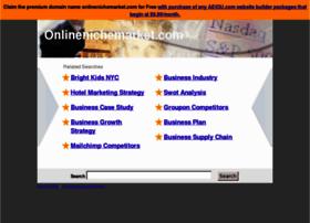 onlinenichemarket.com