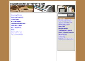 onlinenumerologyreports.com
