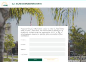onlineorientation.elac.edu