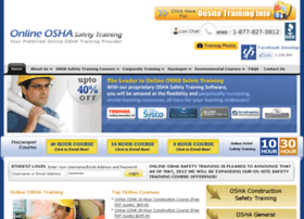onlineoshasafetytraining.com