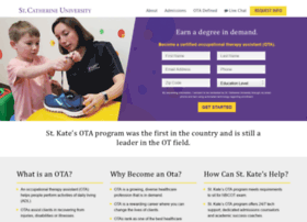 onlineota.stkate.edu