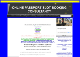 onlinepassportslotbooking.in