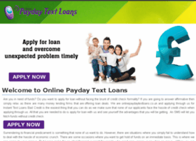 onlinepaydaytextloans.co.uk