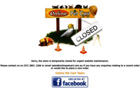 onlinepetcart.com.au