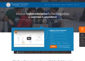 onlinepondiuni.edu.in