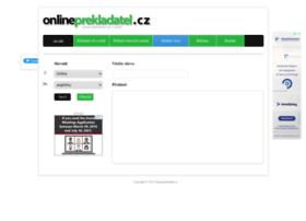 onlineprekladatel.cz