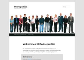 onlineprofiler.dk