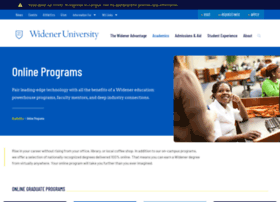 onlineprograms.widener.edu