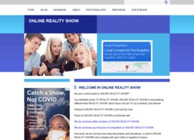 onlinerealityshow.com