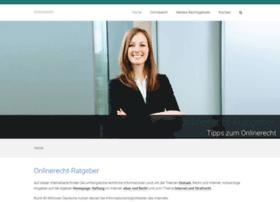 onlinerecht-ratgeber.de