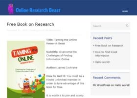 onlineresearchbeast.com