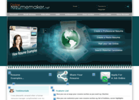onlineresumemaker.net