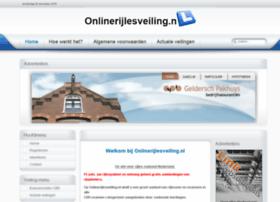 onlinerijlesveiling.nl