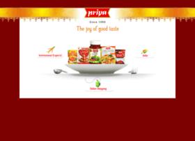 onlinesales.priyafoods.com