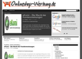 onlineshop-werbung.de