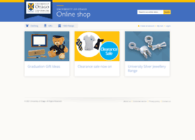 onlineshop.otago.ac.nz