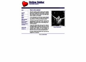 onlinesiddur.com