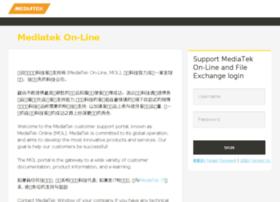 onlinesso.mediatek.com