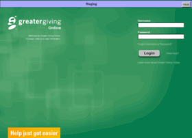 onlinestage.greatergiving.com