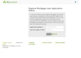 onlinestatus.regionsmortgage.com