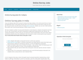 onlinesurveyjobs.co.in