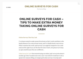 onlinesurveysforcash.net