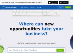 onlinetenders.com