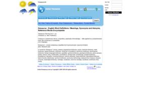onlinethesaurus.com.au