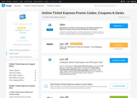onlineticketexpress.bluepromocode.com