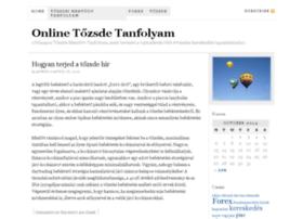 onlinetozsdetanfolyam.hu