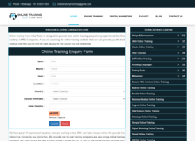 onlinetrainingfromindia.com
