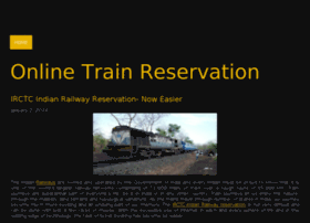 onlinetrainreservation.jigsy.com