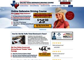 onlinetxdefensivedrivingcourse.com