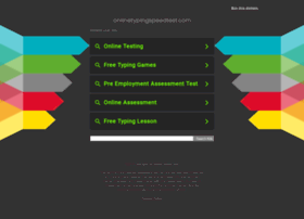Onlinetypingspeedtest.com