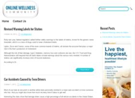 onlinewellnesscommunity.org