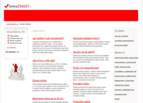 onlinezadost.cz