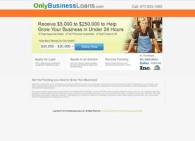 onlybusinessloans.com