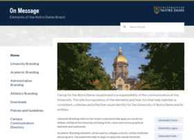 onmessage.nd.edu