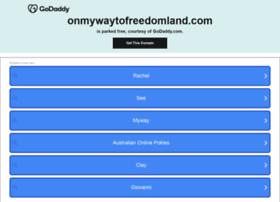 onmywaytofreedomland.com