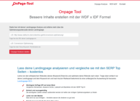 onpage-tool.de