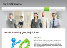 onsite-shredding.co.uk