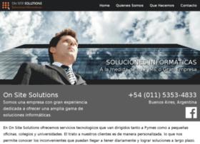 onsitesolutions.com.ar